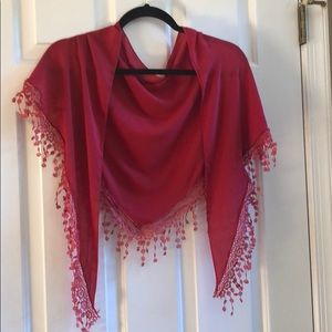 Accessories - *Beautiful Red Scarf*